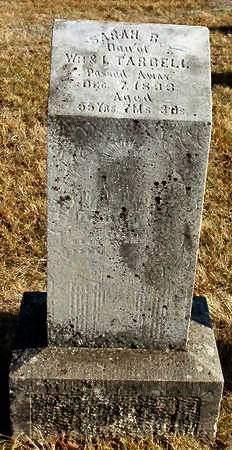 TARBELL, SARAH B - Madison County, Iowa | SARAH B TARBELL