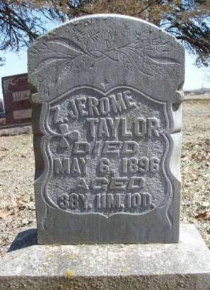 TAYLOR, ZACHARY JEROME - Madison County, Iowa   ZACHARY JEROME TAYLOR