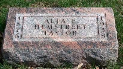 TAYLOR, ALTA E. - Madison County, Iowa | ALTA E. TAYLOR