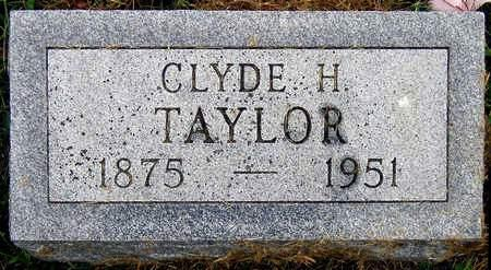 TAYLOR, CLYDE H. - Madison County, Iowa | CLYDE H. TAYLOR