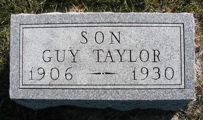 TAYLOR, ELRON GUY - Madison County, Iowa   ELRON GUY TAYLOR