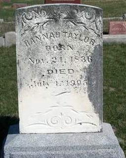 TAYLOR, HANNAH - Madison County, Iowa | HANNAH TAYLOR