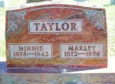 TAYLOR, MINNIE ELDORA - Madison County, Iowa   MINNIE ELDORA TAYLOR