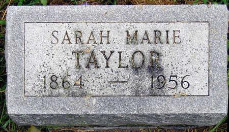 TAYLOR, SARAH MARIE - Madison County, Iowa | SARAH MARIE TAYLOR
