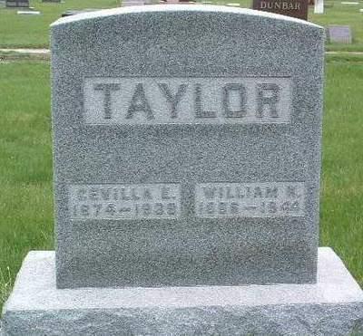 TAYLOR, CEVILLA ELVIA - Madison County, Iowa | CEVILLA ELVIA TAYLOR