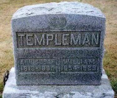 TEMPLEMAN, ANN SUSAN - Madison County, Iowa | ANN SUSAN TEMPLEMAN