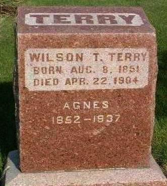 TERRY, AGNES - Madison County, Iowa | AGNES TERRY