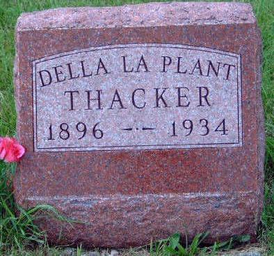 THACKER, DELLA - Madison County, Iowa | DELLA THACKER