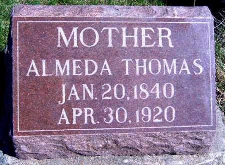 THOMAS, ALMEDA - Madison County, Iowa | ALMEDA THOMAS