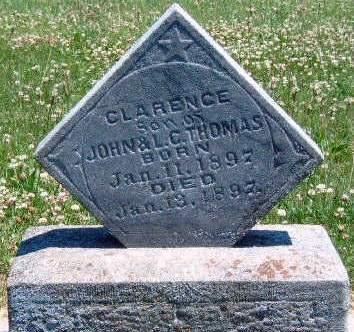 THOMAS, CLARENCE - Madison County, Iowa   CLARENCE THOMAS