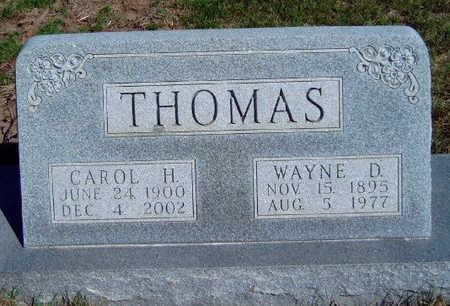 THOMAS, CAROL HANNAH - Madison County, Iowa | CAROL HANNAH THOMAS