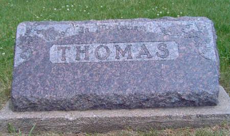 THOMAS, FAMILY STONE - Madison County, Iowa   FAMILY STONE THOMAS