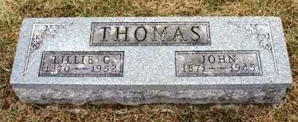THOMAS, JOHN - Madison County, Iowa | JOHN THOMAS