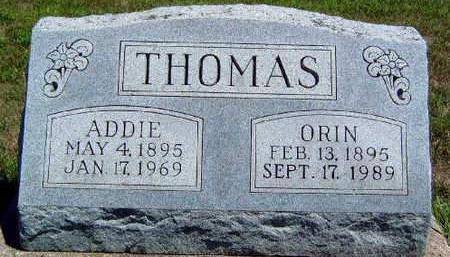 THOMAS, ORIN - Madison County, Iowa | ORIN THOMAS