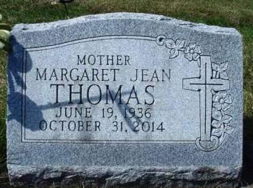 THOMAS, MARGARET JEAN - Madison County, Iowa | MARGARET JEAN THOMAS