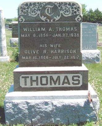 THOMAS, WILLIAM ALEXANDER - Madison County, Iowa | WILLIAM ALEXANDER THOMAS
