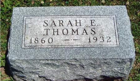THOMAS, SARAH ELIZABETH - Madison County, Iowa | SARAH ELIZABETH THOMAS