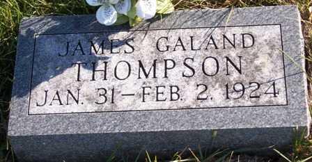 THOMPSON, JAMES GALAND - Madison County, Iowa | JAMES GALAND THOMPSON