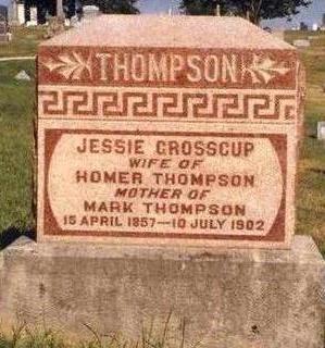 THOMPSON, JESSIE - Madison County, Iowa | JESSIE THOMPSON