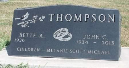 THOMPSON, JOHN CARLOS - Madison County, Iowa | JOHN CARLOS THOMPSON
