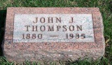 THOMPSON, JOHN JONATHAN - Madison County, Iowa   JOHN JONATHAN THOMPSON