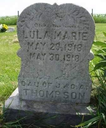 THOMPSON, LULA MARIE - Madison County, Iowa   LULA MARIE THOMPSON