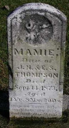 THOMPSON, MAMIE - Madison County, Iowa | MAMIE THOMPSON