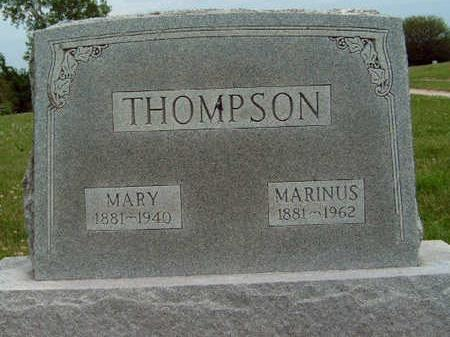 THOMPSON, MARY DORA  - Madison County, Iowa | MARY DORA  THOMPSON