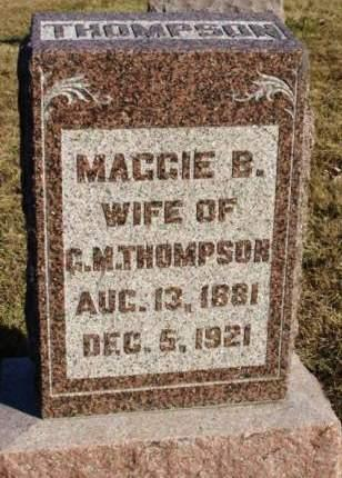 THOMPSON, MARGARET BELL (MAGGIE) - Madison County, Iowa | MARGARET BELL (MAGGIE) THOMPSON