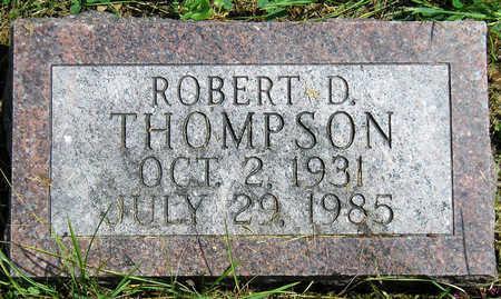THOMPSON, ROBERT DUANE - Madison County, Iowa | ROBERT DUANE THOMPSON