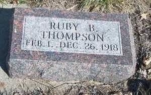 THOMPSON, RUBY BLANCHE - Madison County, Iowa | RUBY BLANCHE THOMPSON