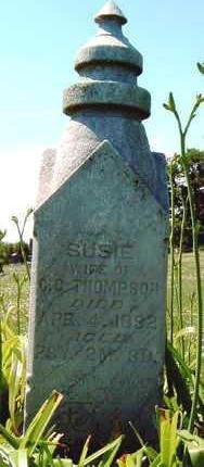 THOMPSON, SUSIE ELLEN - Madison County, Iowa | SUSIE ELLEN THOMPSON