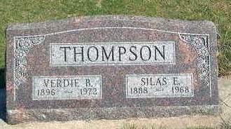 THOMPSON, SILAS EDWARD - Madison County, Iowa | SILAS EDWARD THOMPSON