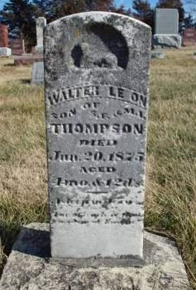 THOMPSON, WALTER LEON - Madison County, Iowa   WALTER LEON THOMPSON