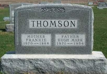 YOUNG THOMSON, FRANCES H. (FRANKIE) - Madison County, Iowa | FRANCES H. (FRANKIE) YOUNG THOMSON
