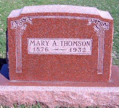 THOMSON, MARY A - Madison County, Iowa | MARY A THOMSON