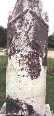 THOMSON, SAMUEL MELVIN - Madison County, Iowa | SAMUEL MELVIN THOMSON