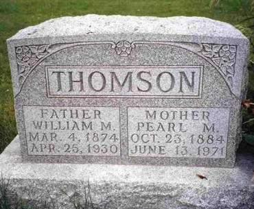 THOMSON, WILLIAM MCROBERT - Madison County, Iowa | WILLIAM MCROBERT THOMSON