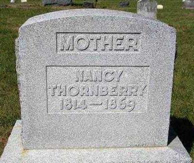 THORNBERRY, NANCY - Madison County, Iowa   NANCY THORNBERRY