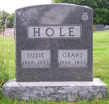 THORNBURG HOLE, SUSIE FRANCES - Madison County, Iowa | SUSIE FRANCES THORNBURG HOLE