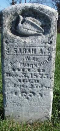 THORNBURG, SARAH ANN - Madison County, Iowa | SARAH ANN THORNBURG