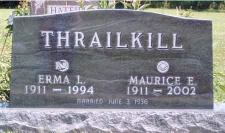 THRAILKILL, MAURICE EDWARD - Madison County, Iowa | MAURICE EDWARD THRAILKILL