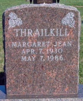 THRAILKILL, MARGARET JEAN - Madison County, Iowa | MARGARET JEAN THRAILKILL