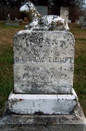 THRIFT, INFANT - Madison County, Iowa   INFANT THRIFT