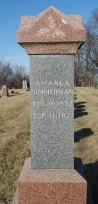 THURMAN, EMMA AMANDA - Madison County, Iowa | EMMA AMANDA THURMAN