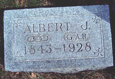 TICKNOR, ALBERT JOHN - Madison County, Iowa | ALBERT JOHN TICKNOR