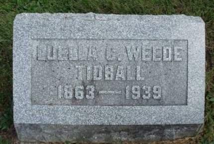 TIDBALL, LUELLA CLARISSA - Madison County, Iowa | LUELLA CLARISSA TIDBALL