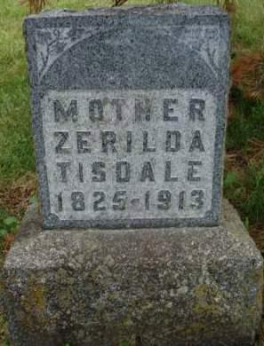 TISDALE, ZERILDA - Madison County, Iowa | ZERILDA TISDALE