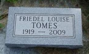 TOMES, ELFRIEDE 'FRIEDEL' - Madison County, Iowa | ELFRIEDE 'FRIEDEL' TOMES