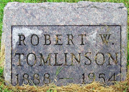 TOMLINSON, ROBERT W. - Madison County, Iowa   ROBERT W. TOMLINSON